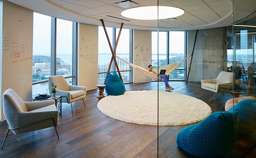 Пример офиса компании 22squared — 15 крутых вариантов мировых маркетинговых и рекламных агентств