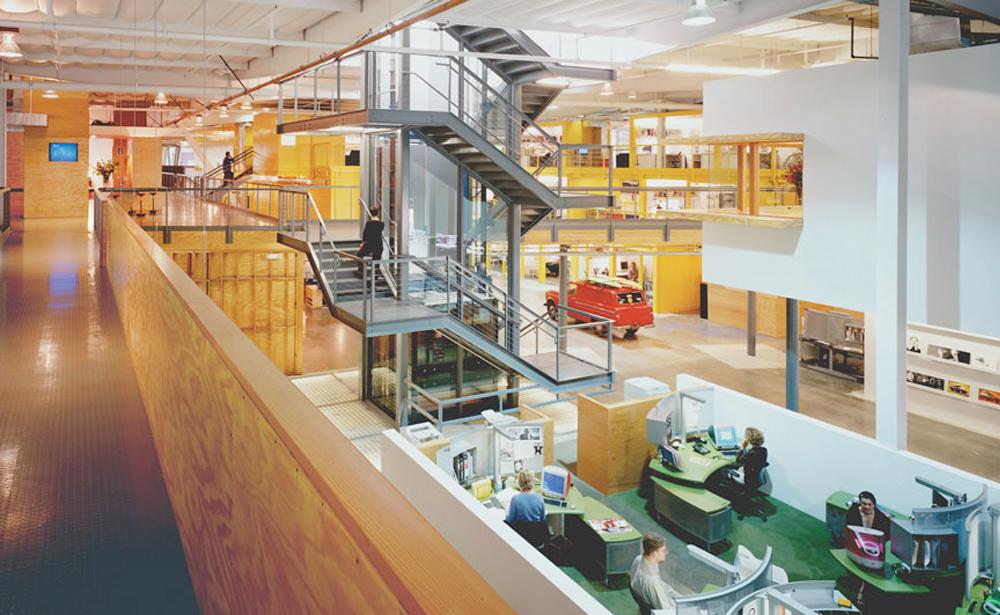 Пример офиса компании TBWA — 15 крутых вариантов мировых маркетинговых и рекламных агентств