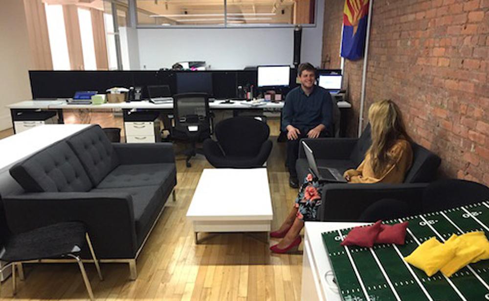 Пример офиса компании M&C Saatchi Mobile — 15 крутых вариантов мировых маркетинговых и рекламных агентств