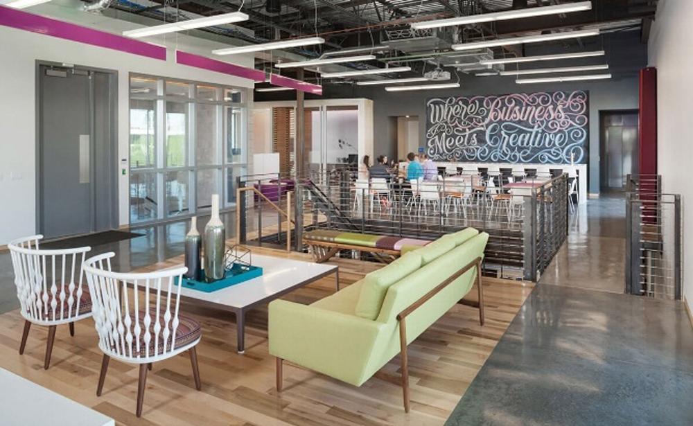 Пример офиса компании Zion & Zion — 15 крутых вариантов мировых маркетинговых и рекламных агентств