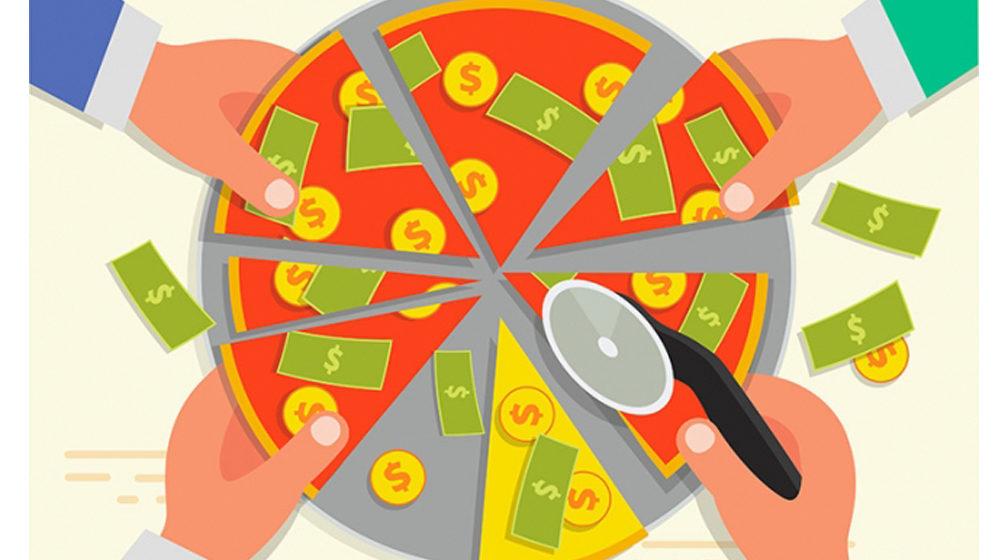 Инвестировать методом пиццы