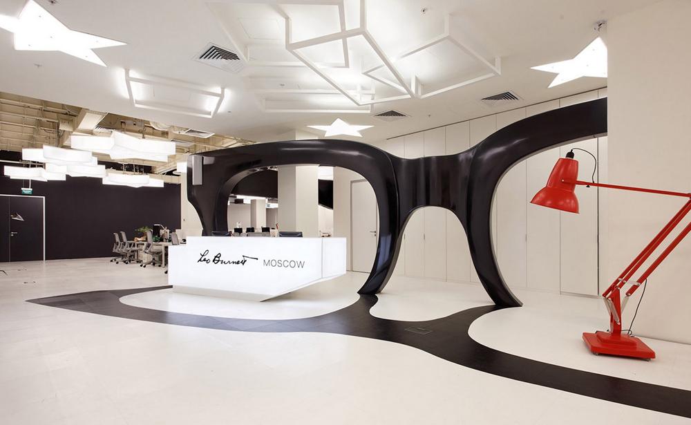 Пример офиса компании Leo Burnett — 15 крутых вариантов мировых маркетинговых и рекламных агентств