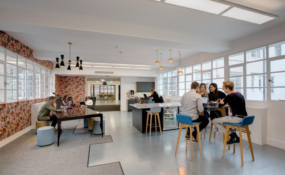Пример офиса компании 360i — 15 крутых вариантов мировых маркетинговых и рекламных агентств