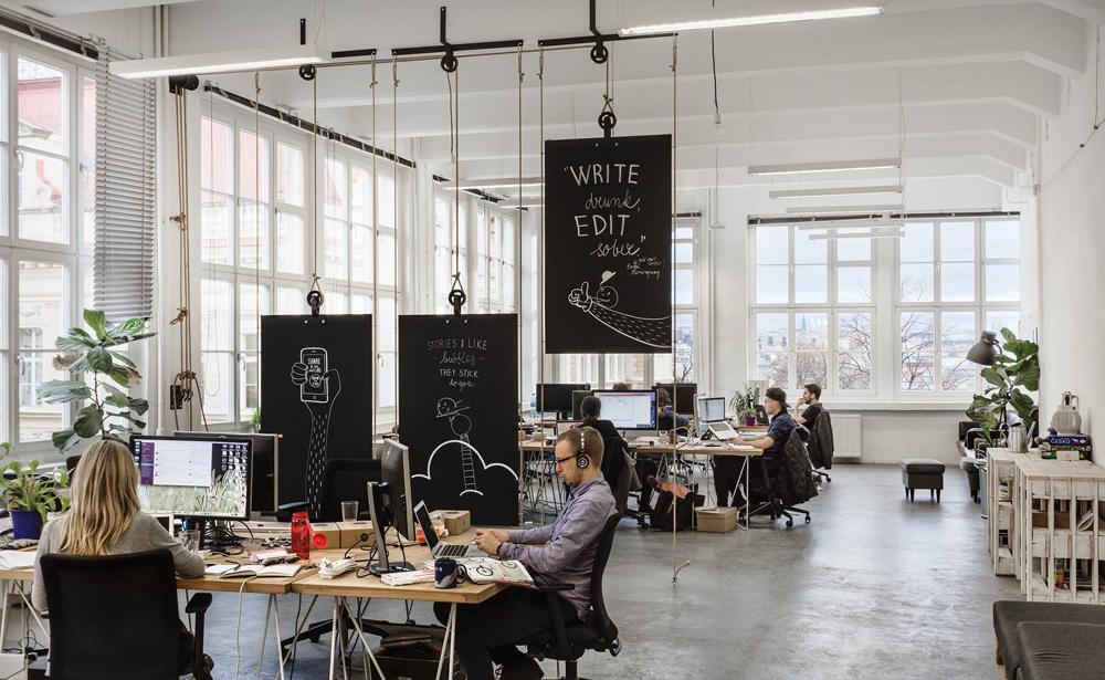 Пример офиса компании Bubble — 15 крутых вариантов мировых маркетинговых и рекламных агентств