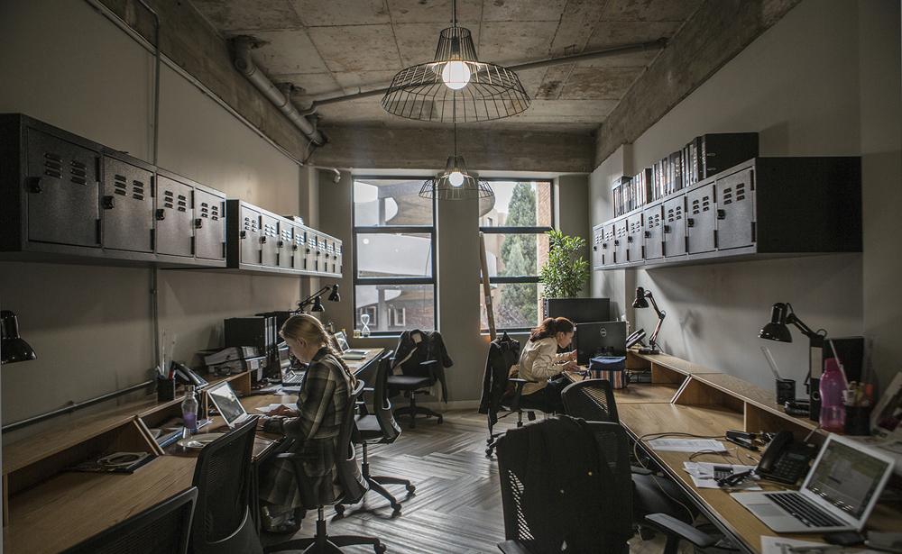 Пример офиса компании FoxP2 — 15 крутых вариантов мировых маркетинговых и рекламных агентств