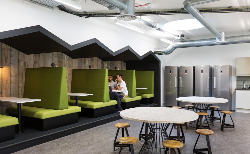 Пример офиса компании Merkle / Periscopix — 15 крутых вариантов мировых маркетинговых и рекламных агентств
