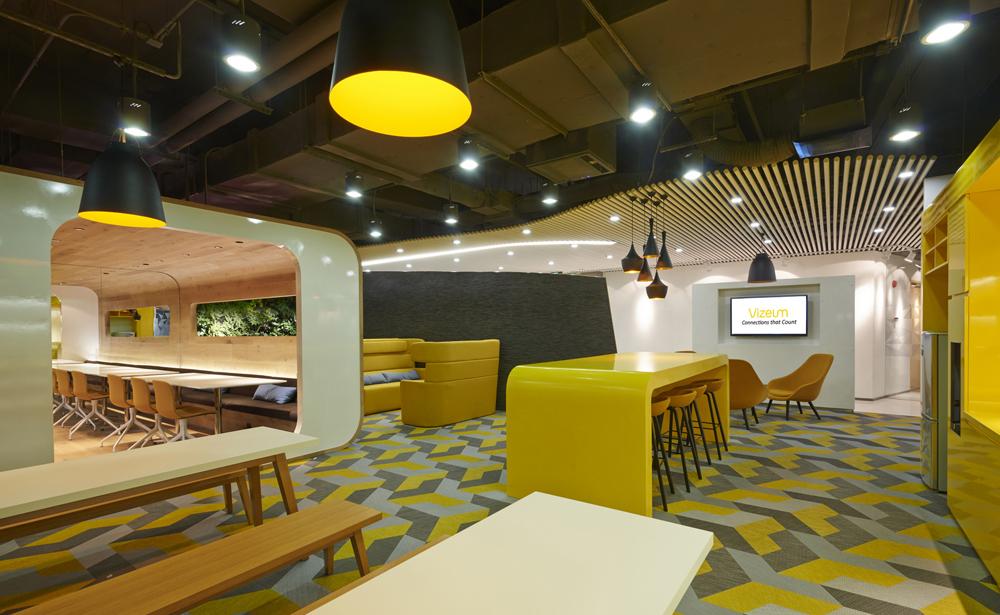 Пример офиса компании Dentsu Aegis Network — 15 крутых вариантов мировых маркетинговых и рекламных агентств