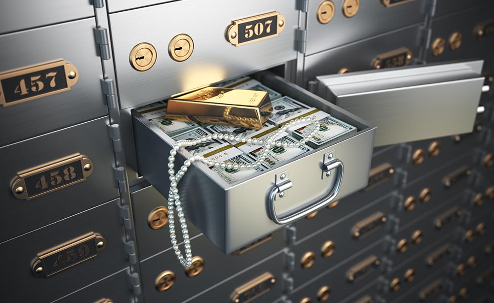 «Легальный» способ потери денег в банковской ячейке