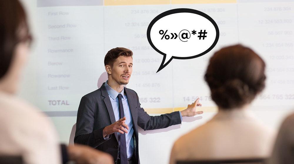7 слов, которые нельзя использовать в презентациях