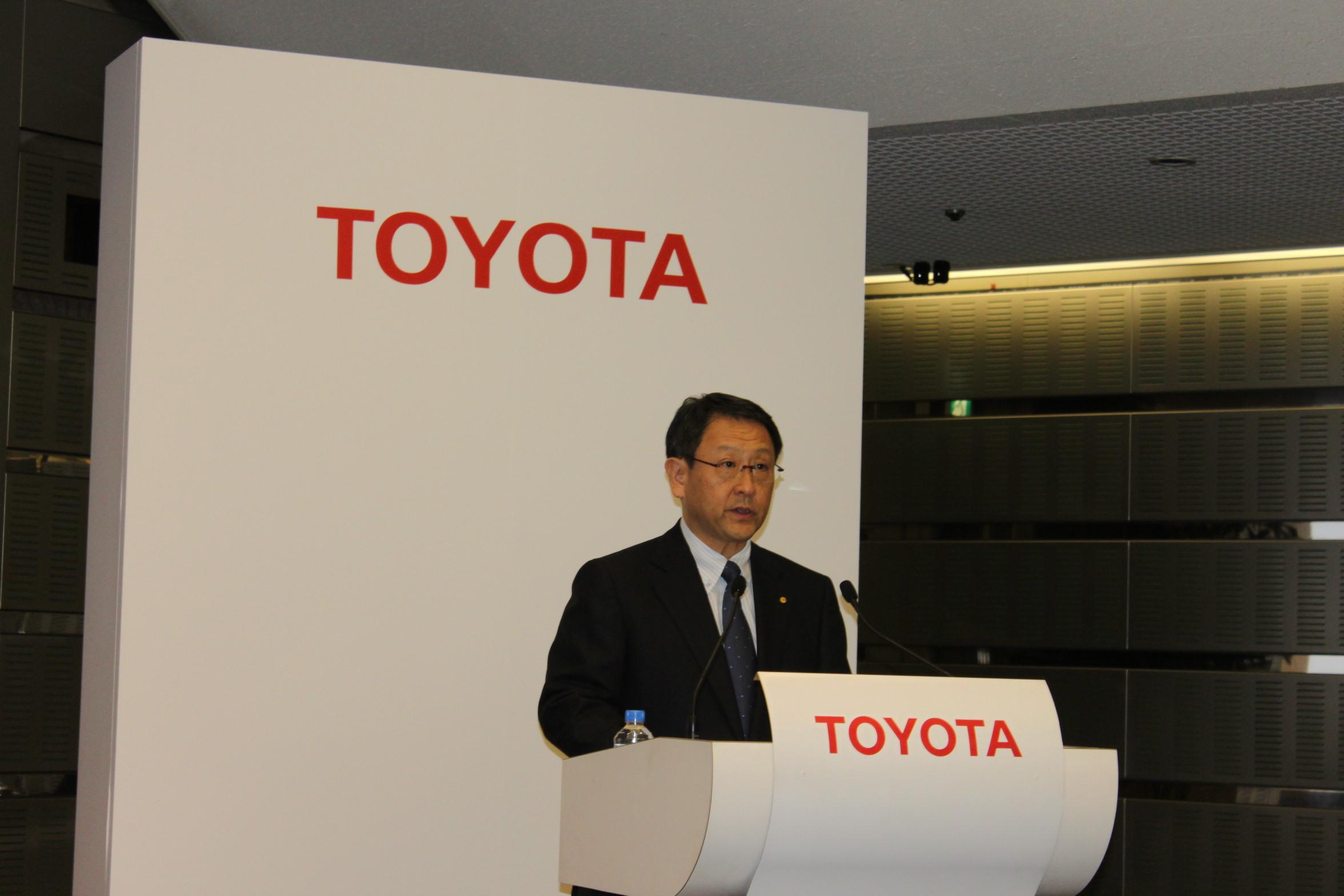 Акио Тоёда, президент Toyota Motor Corporation. Источник Wikimedia