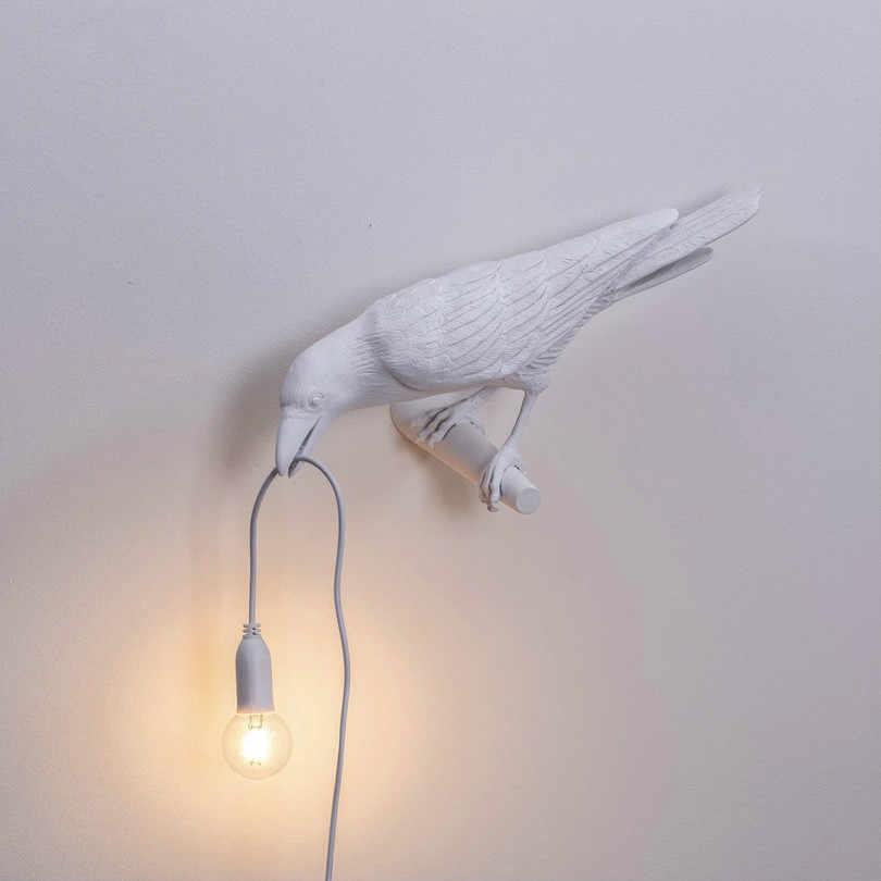 Белая ворона светильник