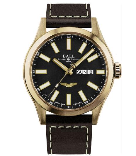 Швейцарские механические наручные часы BALL NM2186C-L4J-BK