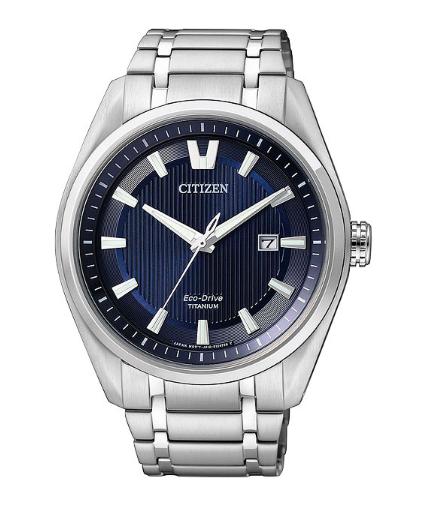 Японские титановые наручные часы Citizen AW1240-57L