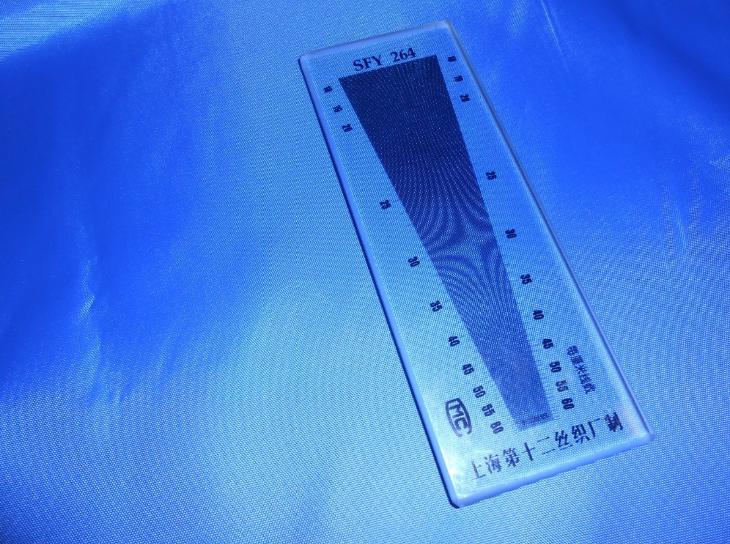 Проверка или контроль качества - измеряем количество нитей