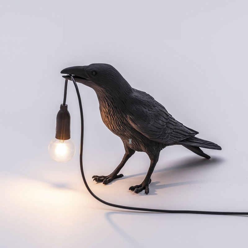 Светильник ворона в офис