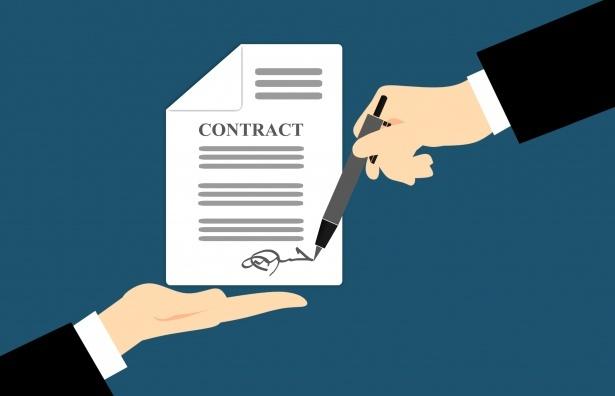 Схема постоплата по договору