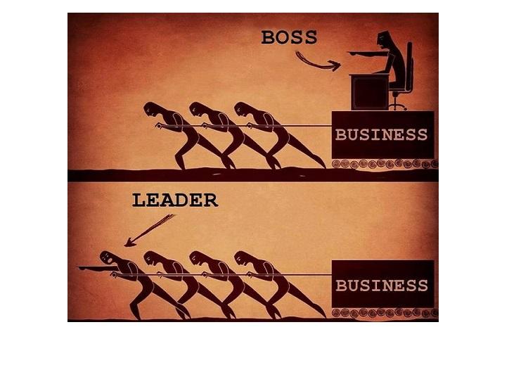 Лидер начальник картинка